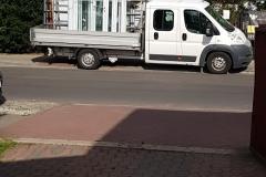 Transport stolarki aluminiowej prosto pod drzwi klienta