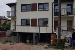 Okna PVC zamontowane przez naszą firmę dla małego dewelopera